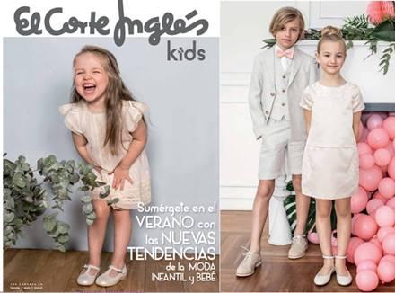 4a94bc6cf El Corte Ingles Kids: Catalogo de Moda Infantil PV 2017 | CatalogosD