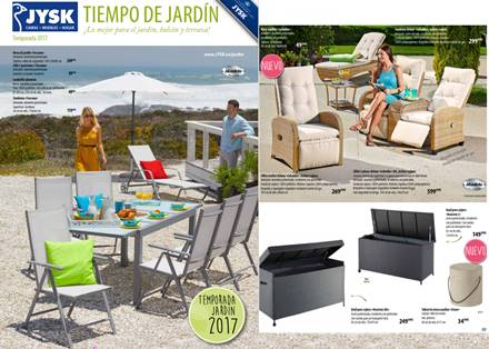 JYSK: Catalogo Tiempo de Jardin Verano 2017 | CatalogosD