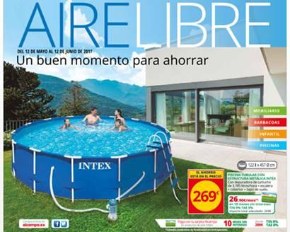 Alcampo catalogo aire libre ofertas hasta el 12 junio for Piscinas alcampo