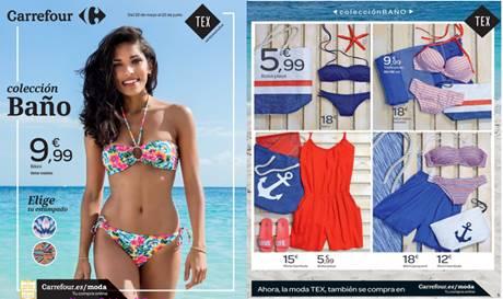 Carrefour tex catalogo de ropa de playa verano 2017 - Catalogo piscinas carrefour 2017 ...