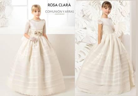 Catalogo vestidos comunion rosa clara