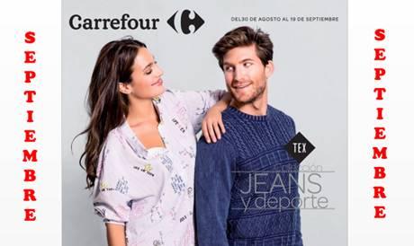Carrefour Catalogo Jeans Y Deporte Otoño 17