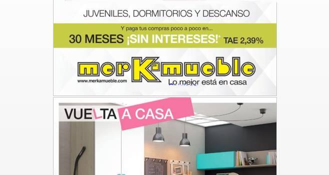 Merkamueble catalogo de muebles vuelta a casa 2017 - Catalogo ofertas merkamueble ...