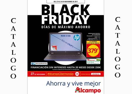 Catalogo alcampo black friday 2017 ofertas 23 al 26 nov - Black friday tenerife 2017 ...