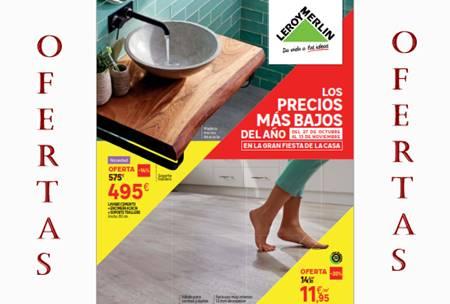 Catalogo leroy merlin rebajas de la casa nov 2017 - Normas de la casa leroy merlin ...