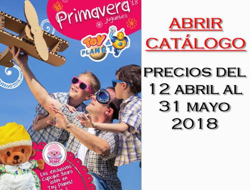 6d70108f48ec0 Catalogo Virtual Toy Planet Juguetes Primavera 2018