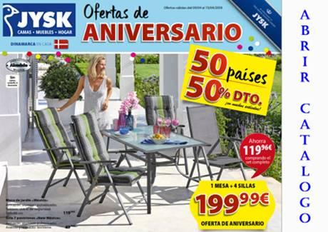 Jysk Ofertas De Aniversario Hoy 9 Al 15 Abril 2018 Catalogos D