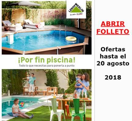 Piscinas en leroy merlin ofertas de hoy al 20 agosto 2018 catalogosd - Piscinas leroy merlin catalogo ...